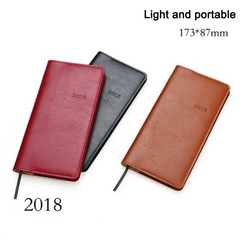 2018 Agenda de notebook-uri Două pagini pe săptămână - Blocnotesuri și registre - Fotografie 1