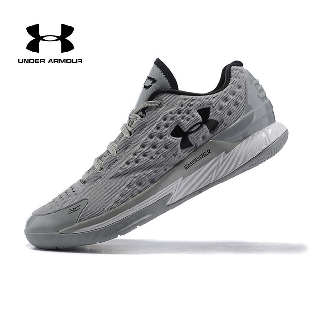 Pria Under Armour Sepatu Basket Sepatu Pria UA Zapatos Hombre Outdoor Sneakers Pria Olahraga Sepatu Olahraga