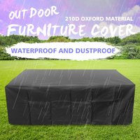 Waterproof Outdoor Patio Garden Furniture Cover Rain Snow Chair covers for Sofa Table Dust Proof Cover