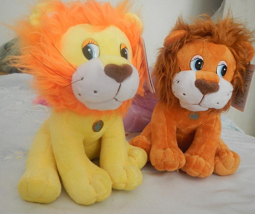 Ryskspråkigt intelligent pratande lejon docka, elektroniska leksaker för flicka, intellektuell rysk leksak julklapp för barn