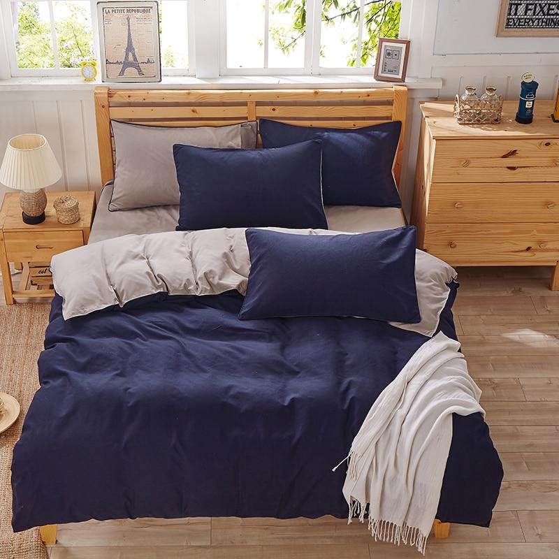 Reaktivdruck Bettwäsche Set Super weiche Baumwolle Bettbezug Flaches Blatt Kissenbezug Tröster Bett Set Twin Full Queen King Size