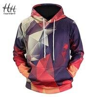 HanHent New Geometric Hoodies 3d Man Streetwear 2018 Fashion Hoody Men S Clothing Men 3d Sweatshirt