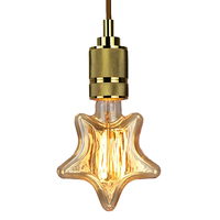 10pcs 40W Retro Village Edison Light E27 Filament Twinkle Star Shape Edison Vintage Bulb AC220V Antique Edison Bulb