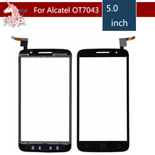 5.0 For Alcatel One Touch POP 2 7043 OT7043 Screen Digitizer Sensor Outer Glass Lens Panel Replacement