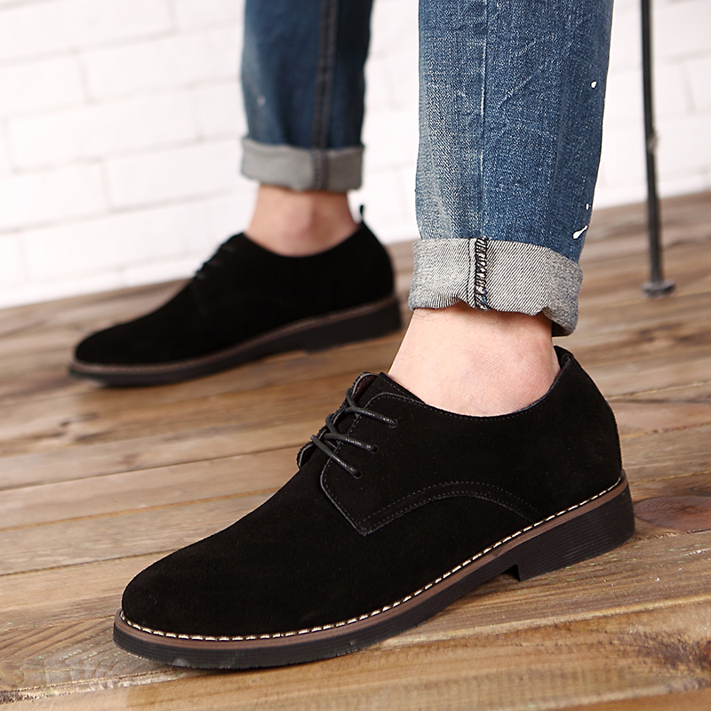 HTB1HbNrd29TBuNjy1zbq6xpepXaY - Suede Leather Oxford Men's Casual Shoes-Suede Leather Oxford Men's Casual Shoes