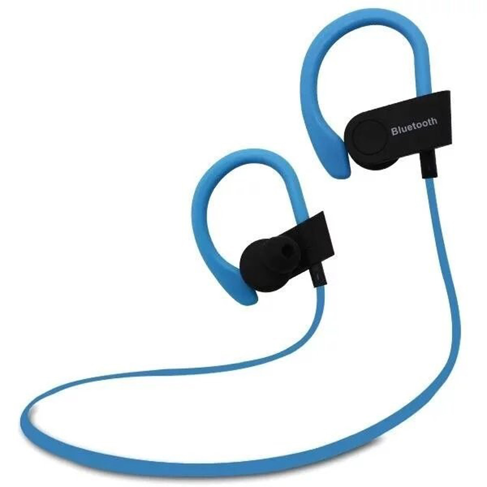 high quality ear hook earphones stereo soft earbuds wireless bluetooth headset for iphone. Black Bedroom Furniture Sets. Home Design Ideas