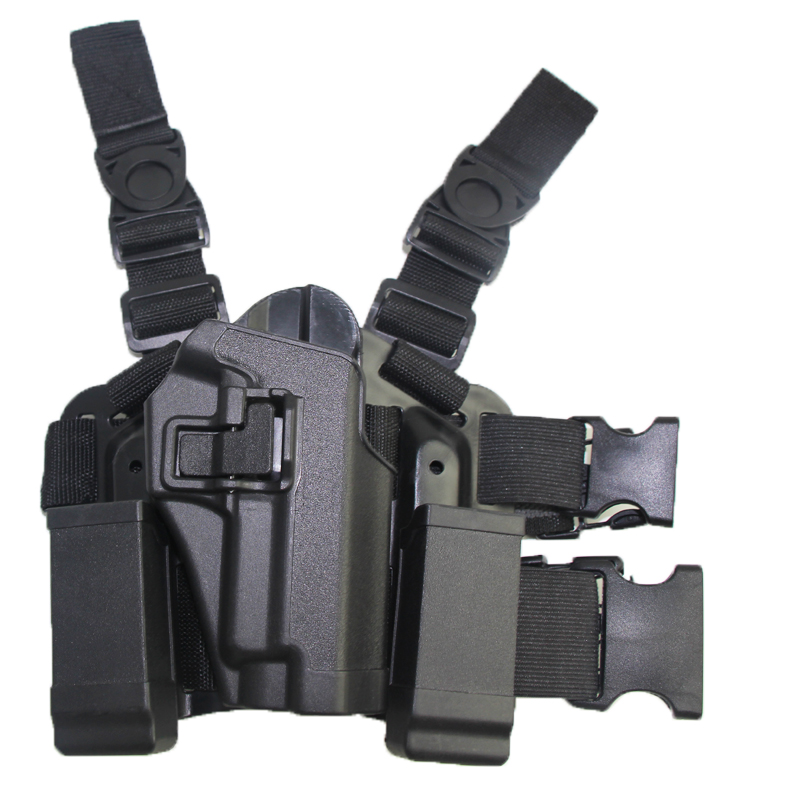 Hunting Shooting Airsoft Tactical Holster Quick Release Right Handed Gun Holster Fits SIG SAUER P226 P229 military tactical drop leg thigh holster lv3 light bearing holster for sig sauer p226 p228 p229