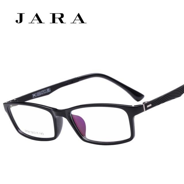 Jara 100% ultraleve titanium armações de aço de tungstênio marca de alta qualidade material de memória full frame óculos de miopia óculos