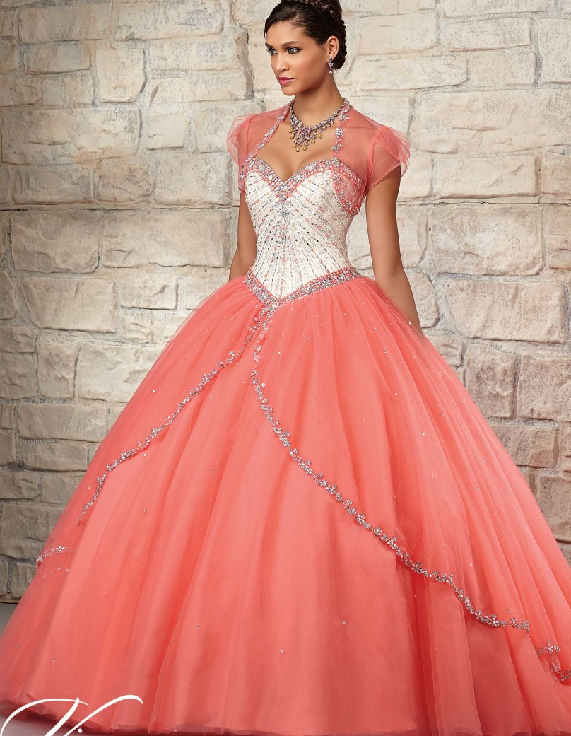 Popular Sweet 16 Dress Coral-Buy Cheap Sweet 16 Dress Coral lots ...