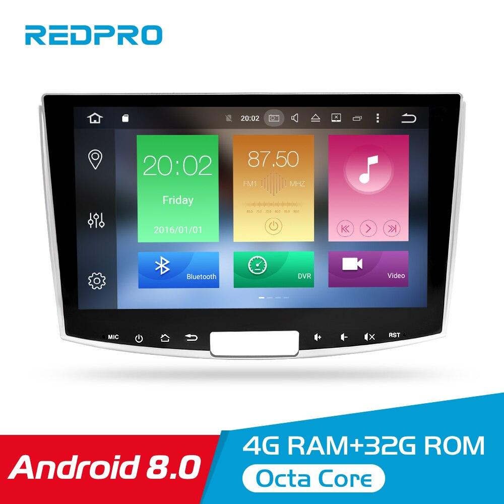 4GRAM Android 8.0 B6 B7 Jogo Multimídia de Som Do Carro Para Volkswagen Passat CC Magotan 2013-2015 Navegação GPS unidade central de Automóveis radia