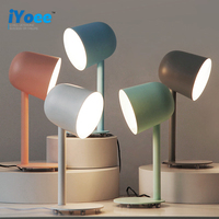 Simple Nordic Flexible Desk Lamp Modern Macaron Study Reading Light Work Table Lamp Creative Personality Office