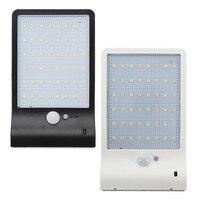 Smuxi DC3 2V 3 8W LED Solar Wall Light 48led Motion Sensor Powered Street Lamps Garden