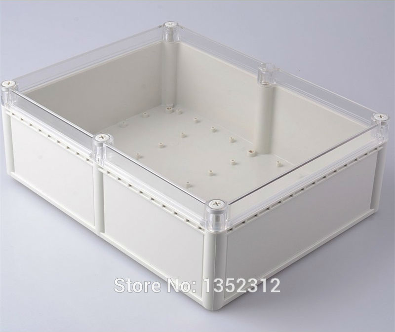 1 pcs 331*256*111mm plastic waterproof box for electronic ip68 wall mount abs PLC DIY project box housing control junction box1 pcs 331*256*111mm plastic waterproof box for electronic ip68 wall mount abs PLC DIY project box housing control junction box