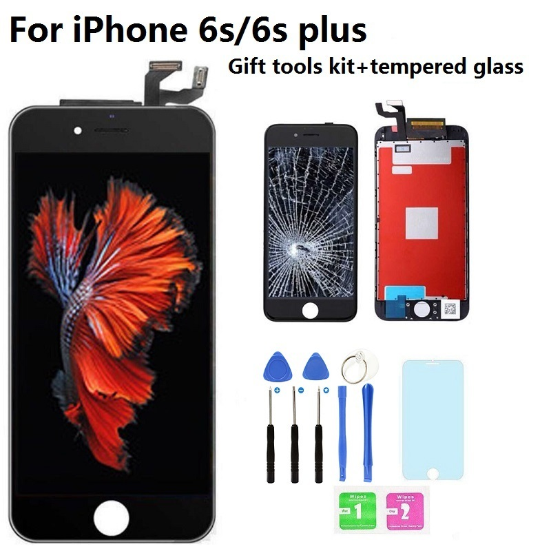 Hot Sale AAAAA Original LCD Display Touch Screen Digitizer Assembly Replacement Parts For IPhone 6s Plus 6splus With Free Gift