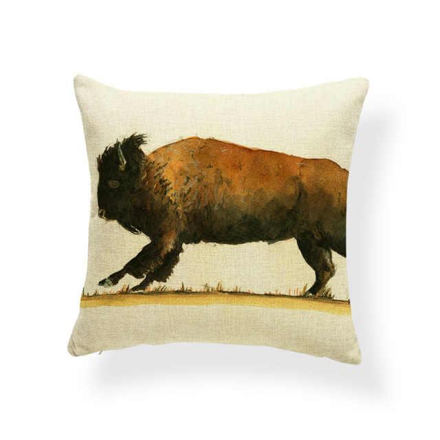 Мопс Грейхаунд наволочки корги бульдог наволочки животные Западная медитация подарки пледы наволочки квадратное белье