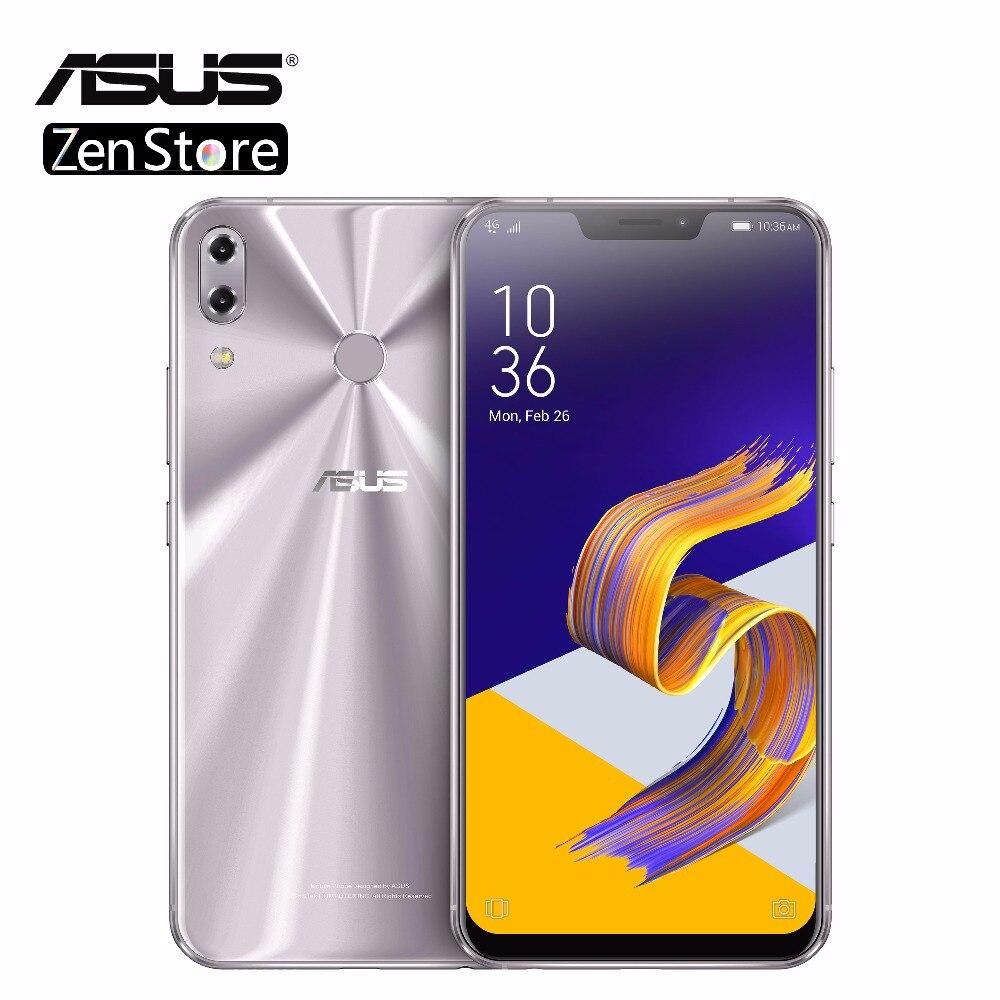 ASUS ZenFone 5Z ZS620KL 6.2 19:9 FHD + Cran ScreenSnapdragon 845 Android8.0 Téléphone Visage ID Charge Rapide