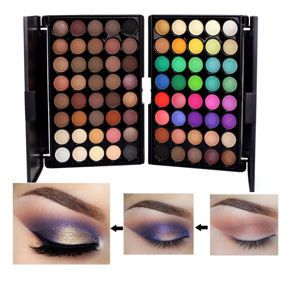 Beauty & Health Beauty Essentials Lower Price with Best Deal New Fashion Multi-color Cosmetic Matte Eyeshadow Cream Makeup Eye Shadow Palette Shimmer 40 Color Eyeshadow Pigment