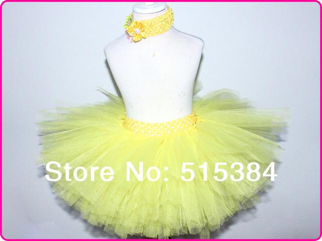 Mix colore tutus faldas para niñas mullidas 3 capas tutu falda del bebé embroma el pettiskirt muchos colores en la acción