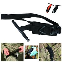 Emergency Tourniquet Strap Outdoor Portable First Aid Quick Slow Release Buckle Medical Military Tactical Tourniquet One