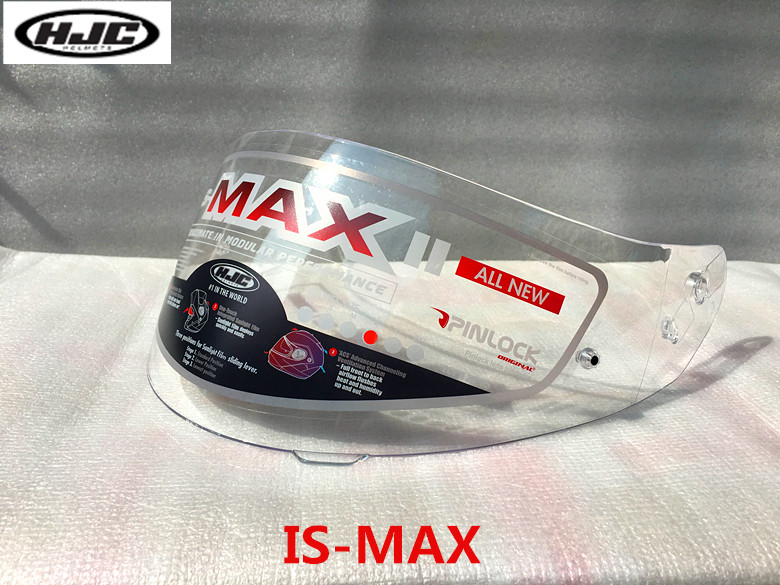 Original HJC hj-17 helmet visor shield suitable for IS-MAX, IS-MAX II, IS-MAX BT, CL-MAX2, SY-MAX3 Smoke Transparent HJC lens 10 is кожаные кеды ten top max
