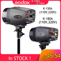 GODOX K 150A K150A K180A K 180A 180WS 150Ws Portable Mini Master Studio Flash Lighting Photo Gallery Mini Flash 110 v/220 v