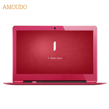 Amoudo 14 дюймов 4 ГБ ram + 120 ГБ ssd + 750 ГБ hdd intel pentium quad core windows 7/10 система 1920×1080 P fhd ноутбук ноутбука