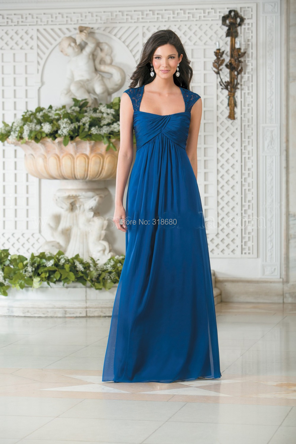 Unique Design Ruched Bodice New Years Eve Dresses Cobalt Long Latest ...