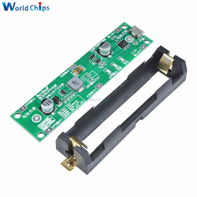 5 V 18650 batterie au Lithium booster Module de Charge décharge en même temps UPS Circuit de Protection Li-ion Micro USB bricolage