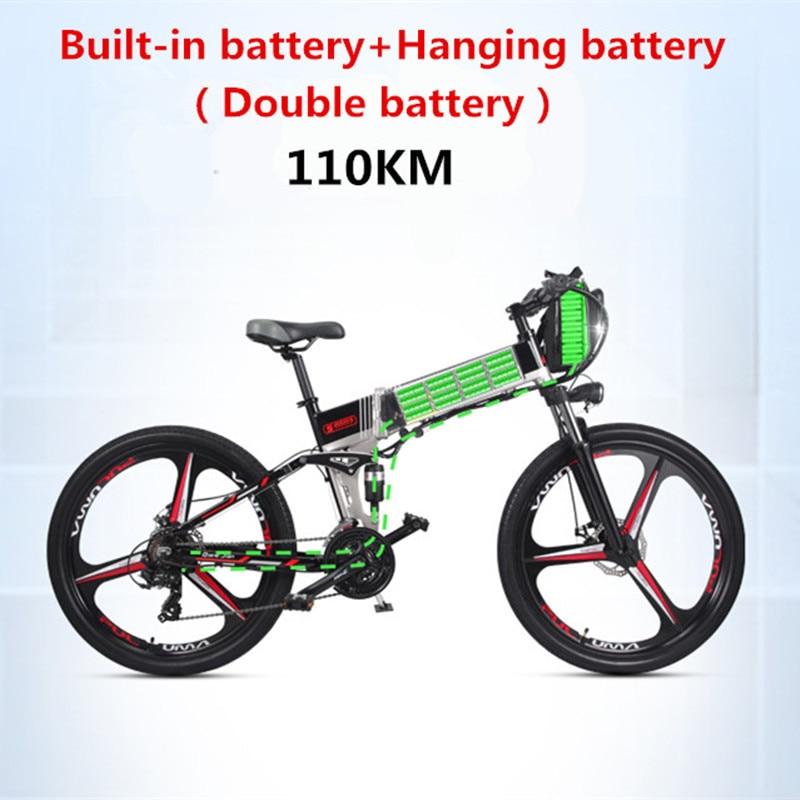 Elettrico pieghevole mountain bike della bicicletta batteria al litio alimentato Mini stealth batteria per adulti passo auto batteria auto