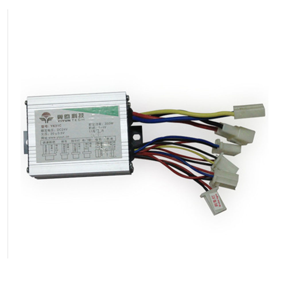 24v 36v 48v 350w 500w Dc Bike Motor Brushed Controller For Electric Bike Scooter E Bike Electric Bicycle Ebike