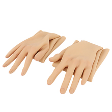 KOOMIHO Crossdressing Female Silicone Gloves Realistic Skin Hand for Transvestite Cosplay Performance Props Drag Queen Shemale