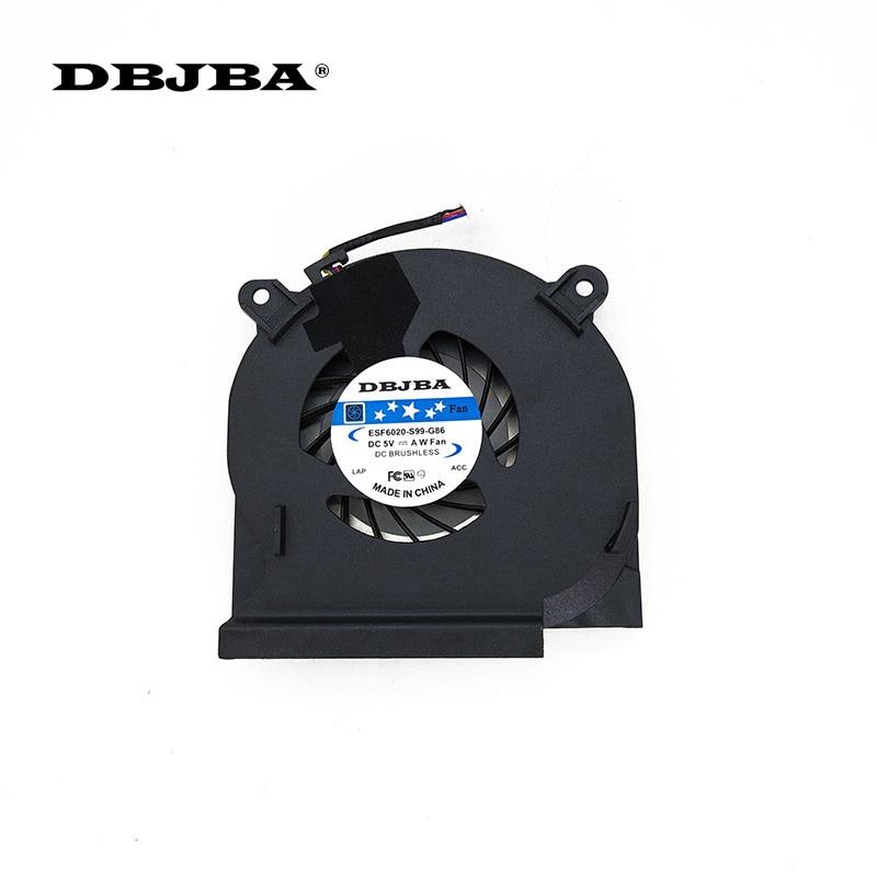 Новый охлаждающий вентилятор для ноутбука Dell Latitude E6410 вентилятор 04H1RR DC280007TFL вентилятор BATA0610R5H 002
