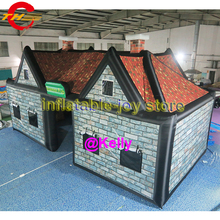 10x5x5mH free door shipping big inflatable bar tent house cheap inflatable pub tent durable inflatable Irish pub tent for sale : big cheap tents - memphite.com