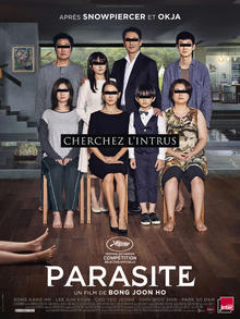 Parasite 2019 Movie SILK POSTER Decorative Wall Painting 24x36inch