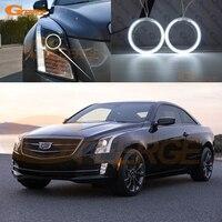 For Cadillac ATS 2012 2013 2014 2015 Excellent angel eyes Ultra bright illumination CCFL angel eyes kit Halo Ring