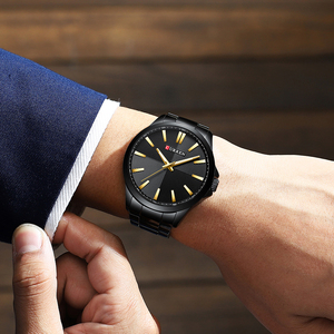 Image 2 - Men Watches 2019 Luxury Brand Stainless Steel Fashion Business Mens Watch CURREN Wristwatch Man Clock Waterproof 30 M Relojes