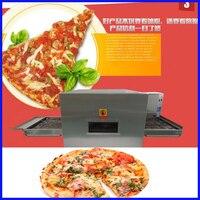 Высокое качество 32 дюймов Электрический конвейер печь для пиццы машина для приготовления хлеба для пиццы