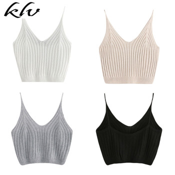 Women's Summer Basic Sexy Strappy Sleeveless Racerback Crop Top racerback tank top