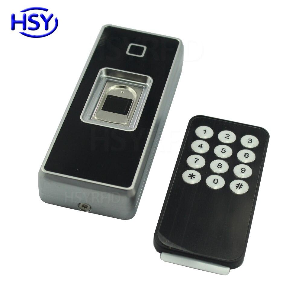 Boîtier en métal numérique biométrique d'empreintes digitales contrôle d'accès RFID Scanner capteur autonome contrôleur en option étanche