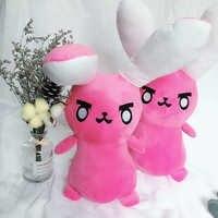 1 stück Spiel Overwatches Rosa Dva Kaninchen Plüsch Spielzeug Kissen OW Weiche DVA Kissen Sofa Kissen Spielzeug für Kinder Cosplay geschenke