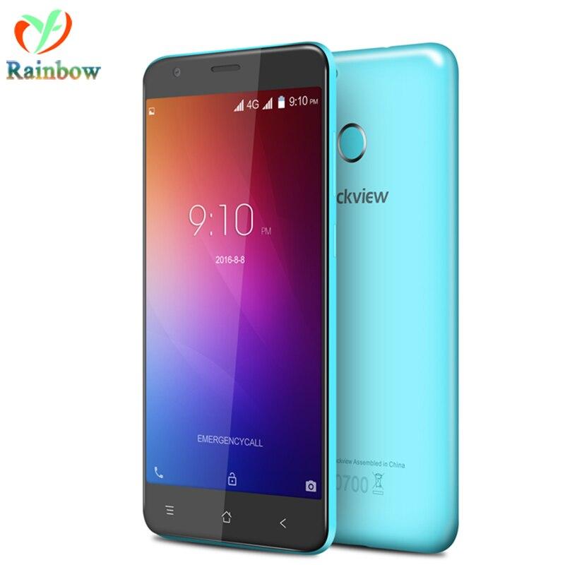 Цена за Blackview E7S Мобильный Телефон 3 Г GPS Android 6.0 MTK6580 Quad Core 2 ГБ RAM 16 ГБ ROM Сотовый Телефон Fingprint ID Разблокирована смартфон