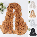 Women Fashion Musical Note Chiffon Neck Scarf Spring Summer Shawl Scarves Long Beauty Scarves For Ladies Girl  D2