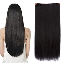 JINKAILI 5 clips/piece Natural Silky straight Hair Extention