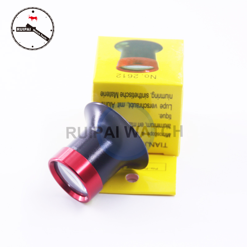 No.2613 Eye Ear Type Monocular Magnifier Loupes, 20x Loupes Magnifier Watch Tools For Watchmaker