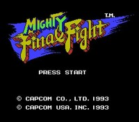Mighty Final Fight English Version 72pins 8bit Game Card Drop Shipping