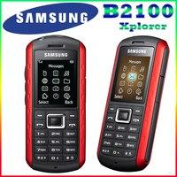 B2100 המקורי סמארטפון סמסונג B2100 Xplorer 1000 mAh 1.3MP 1.77 Inches 3 גרם עמיד למים משופץ נייד משלוח חינם