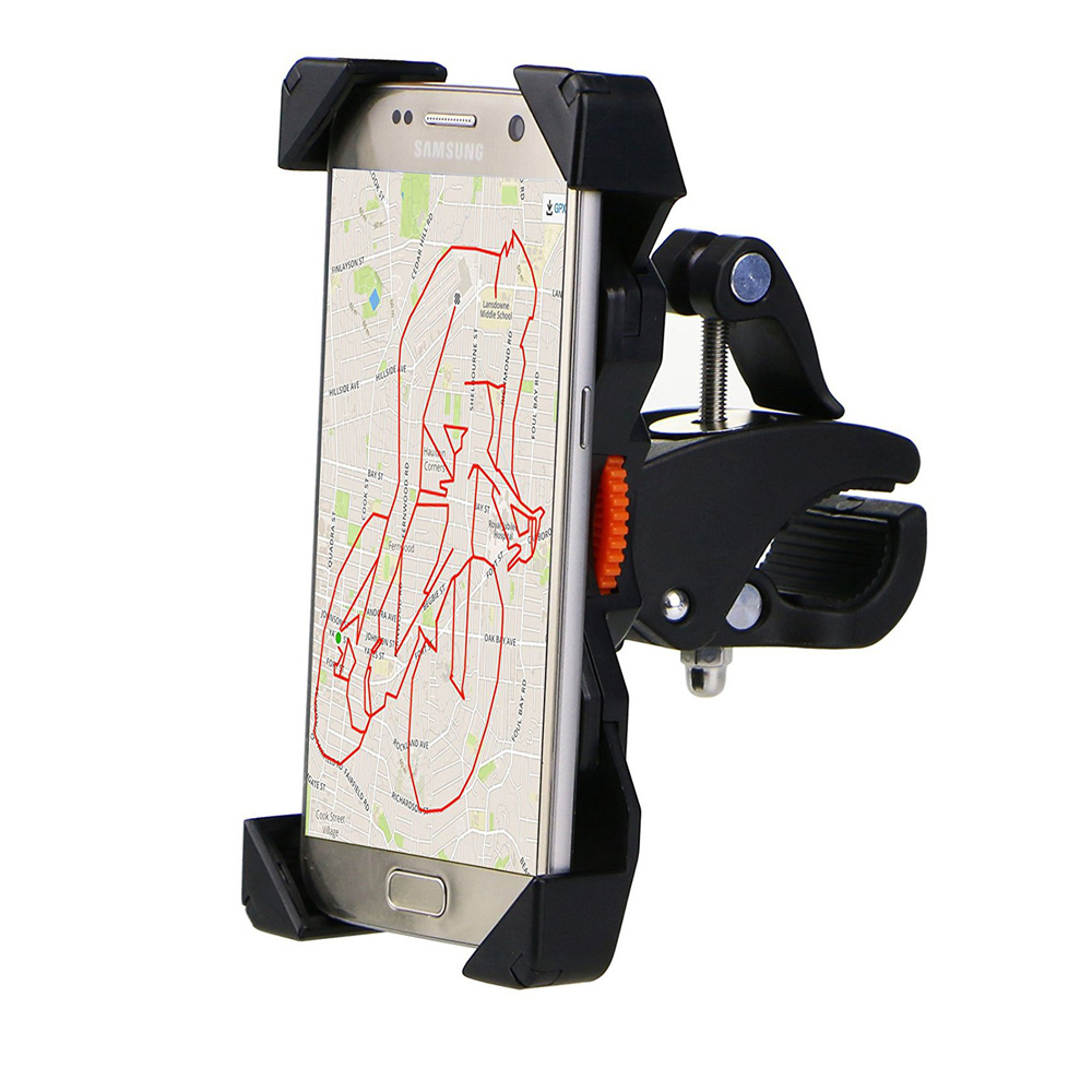 WunderschöNen Universal-scooter Halter Lenker Halterung Handy Halter Stehen Cradle Motorrad Telefon Halter Für 4-6 Zoll Handys 100% Hochwertige Materialien