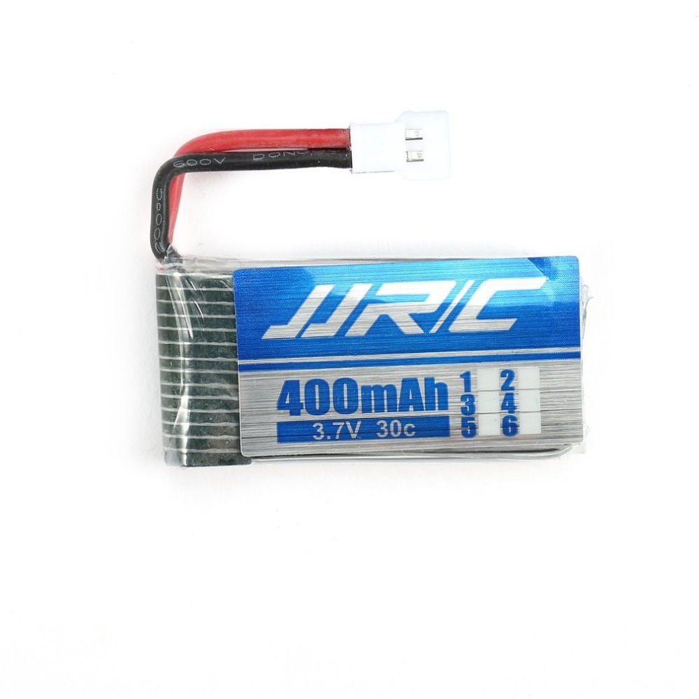 2pcs/set Original <font><b>3.7V</b></font> <font><b>400mAh</b></font> 30C Lipo RC Drone Battery for Cool JJRC H31 Drones RC Quadcopter Drone Batteries Accessories image