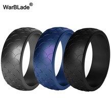3 pc/set masculino anéis de silicone grau alimentício fda silicone anel de dedo hipoalergênico flexível esporte ao ar livre antibacteriano bandas de borracha