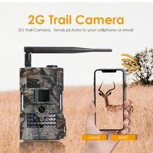 Bolyguard avcılık takip kamerası 2G MMS SMS 18 M 1080PHD yaban hayatı 90ft PIR gece görüş fotoğraf tuzakları İzcilik Kamera fototrappola